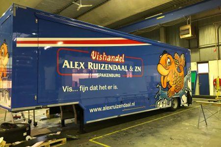 verkoopwagen Alex Ruizendaal