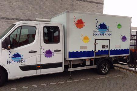 vrachtwagen Bram van Diermen