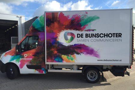 bedrijfswagen Drukkerij de Bunschoter
