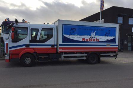 vrachtwagen Ruisvis