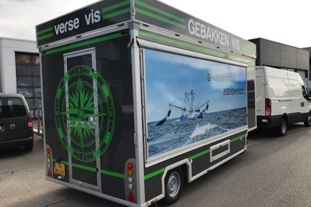 verkoopwagen Spakenburgse Vishandel