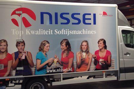 vrachtwagen Nissei